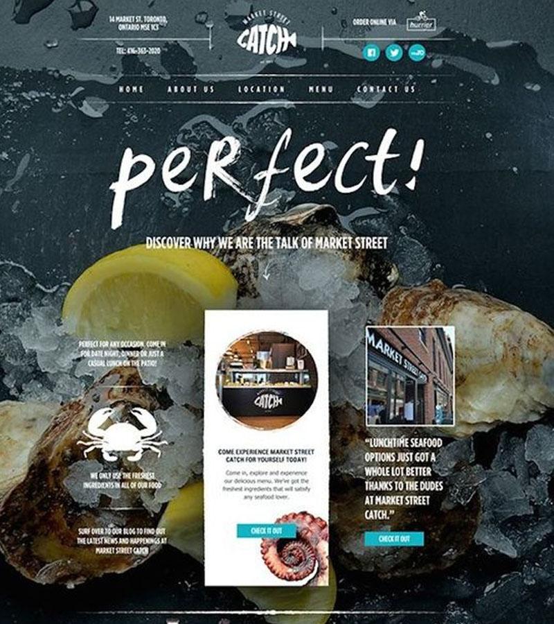 เว็บไซต์ร้านอาหาร