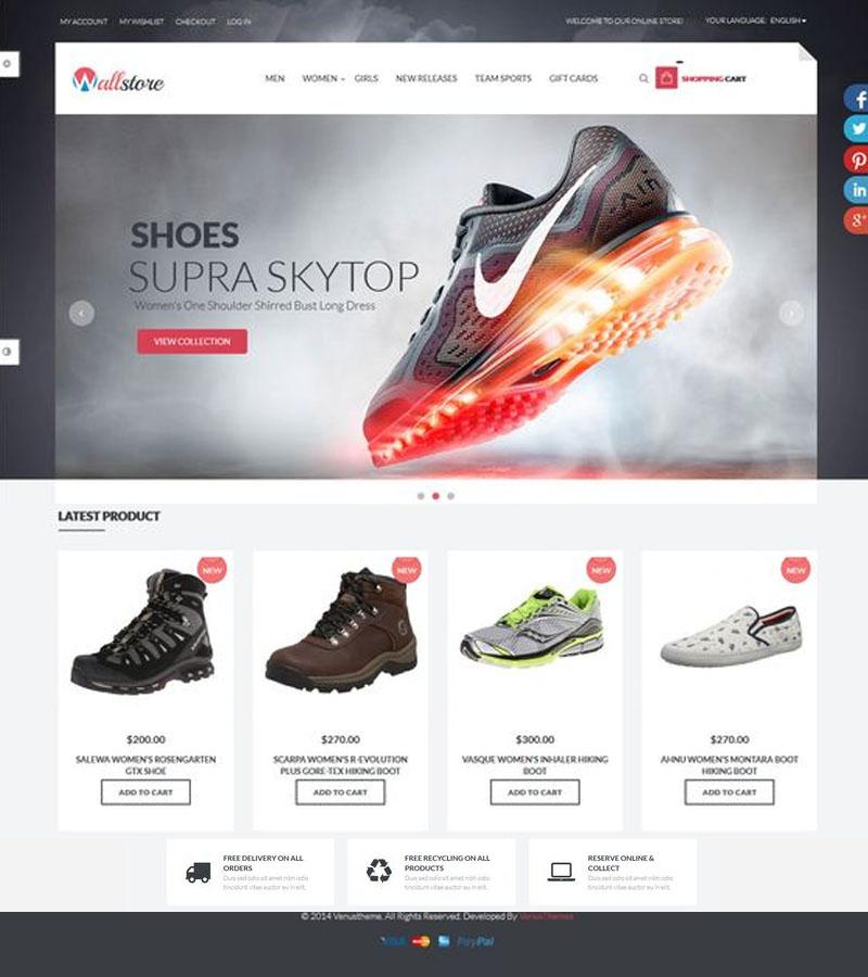 เว็บไซต์ขายรองเท้า